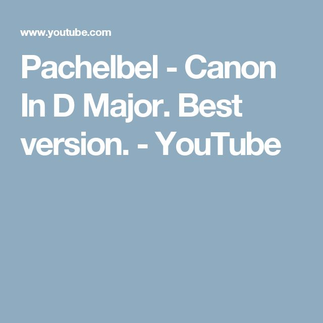 This Is Canon By Pachelbel I Have Mixed Some Pictures In The Song To Make It Even More Relaxing Enjoy And Feel Free Comment
