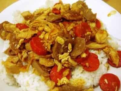 Nasi Gila - Disini ada beragam cara membuat atau masak memasak video resep nasi gila menteng gondrong ala kaki lima yang paling pedas mudah serta sangat sederhana.