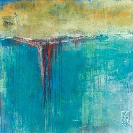 Ice, artist: Maeve HarrisPaintings Art, Batniji Art, Wall Artaiss, Inspiration Piece, Abstract Art, Maeve Harry, Painting Ideas, Perfect Colors, Oil Painting