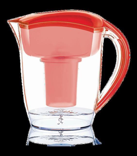 Santevia Alkaline Water Pitcher Red  #minerals #turmeric #inflammation #organic #flora #organiccoffee #sangsters #vitamins #glutenfree #naturesway
