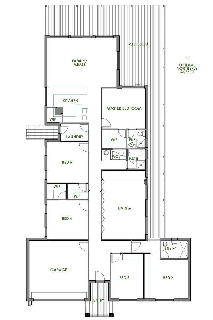 19 Best Small Lot House Floorplans Images On Pinterest
