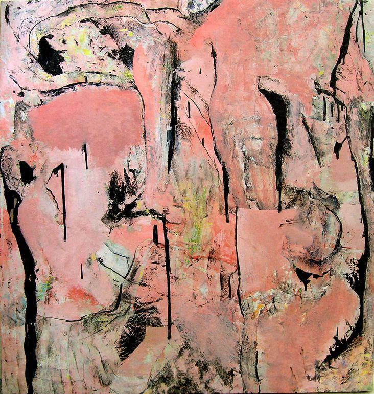 "Saatchi Art Artist: Lee Stewart; Oil 2011 Painting ""Gathering"" #art (Chelsea Jones)"
