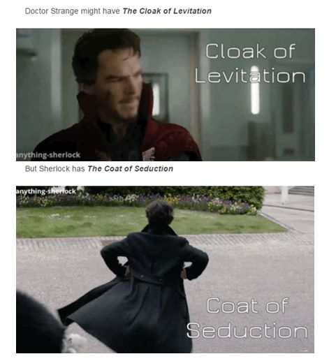 Yas!!! Sherlock Holmes & Doctor Strange