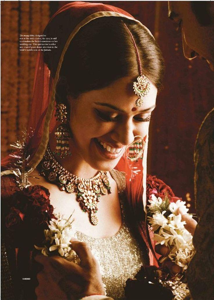 Tanishq Punjabi Bride Kundan