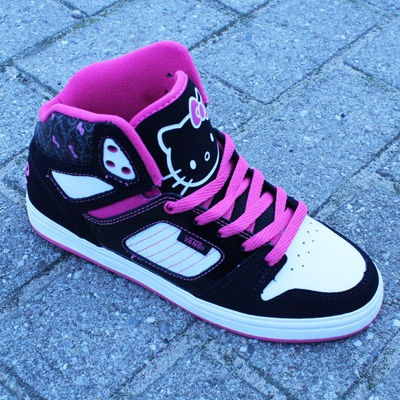 Vans, Allred Hello Kitty shoes