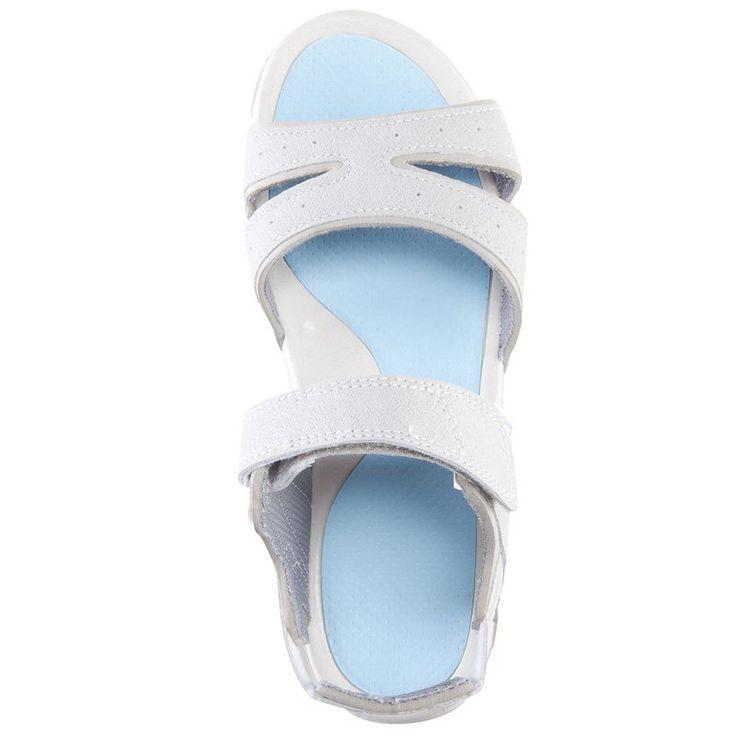 Kadın Doğa Yürüyüşü Sandaletleri Doğa Yürüyüşü - Arpenaz 50 Kadın Doğa Yürüyüşü Sandaleti - Açık Mavi QUECHUA - Outdoor Ayakkabılar