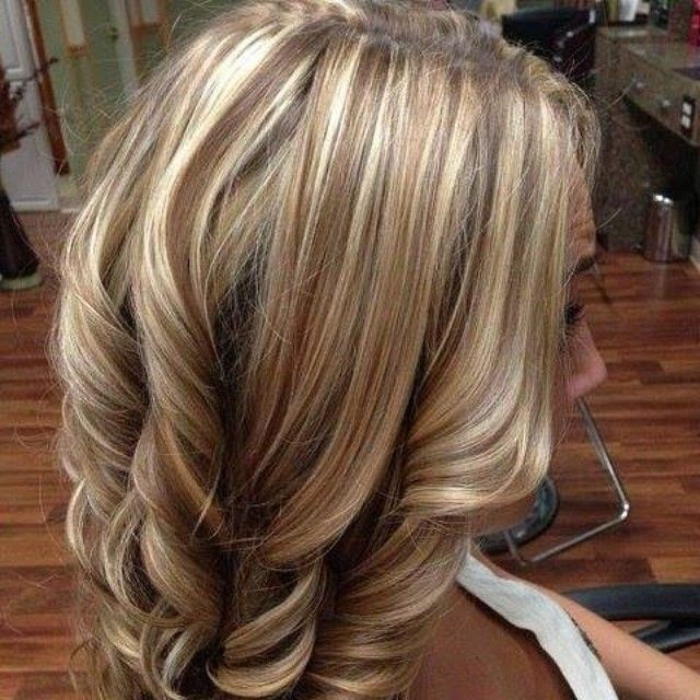 #highlights #blonde #brown... @amiller246 this would be perfect for your hair!
