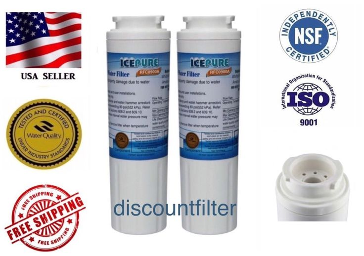 Maytag Ukf8001 4396395 Puriclean Ii 6007A Comparable Icepure Water Filter 2-Pack