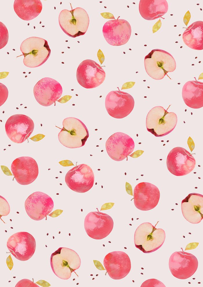 apple pattern by KIND OF STYLE