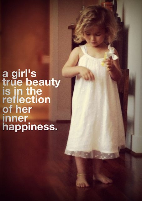 Start having conversations with your girls in your life about beauty, confidence and self-esteem.