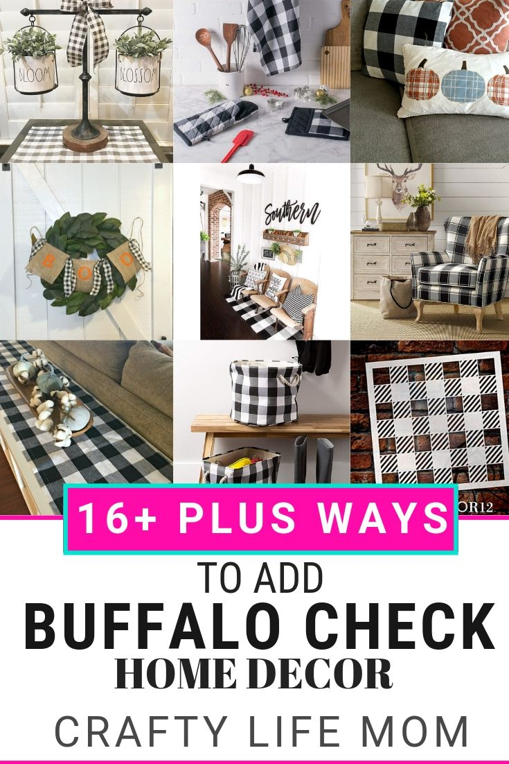 16 Plus Ways To Add Buffalo Check Your Home Decorate Seasonally Or Year Round With These Decor Items You Need Get