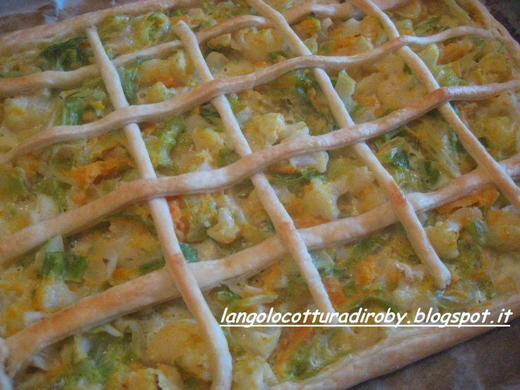 Tortino zucca/verza/cavolfiore | Angolo cottura di Roby