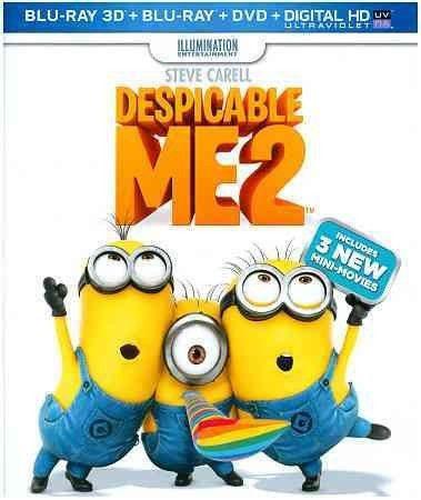 Despicable Me 2 (3D/Blu Ray/Dvd W/Digtial Hd/Uv/3Discs) (3-D)