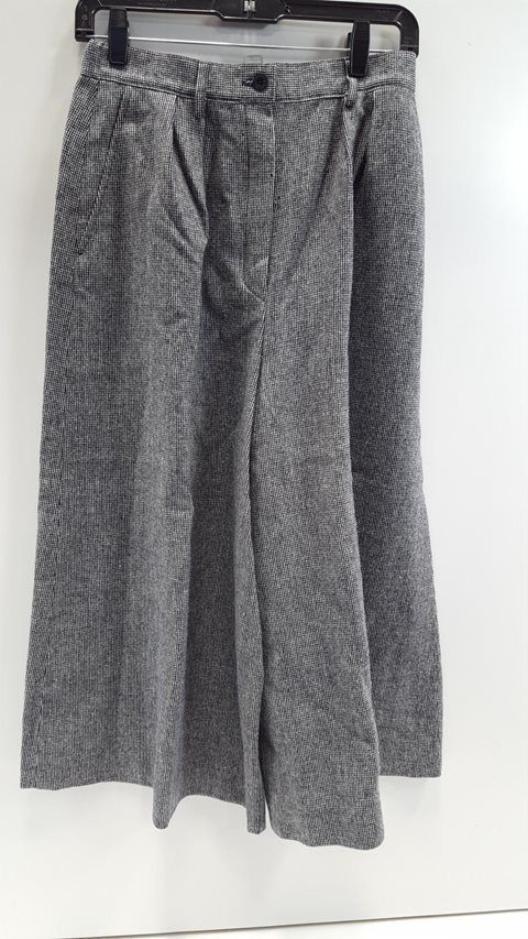 EBay Link Pendleton Blue Checked Wool Women 10 Gaucho Pants Fashion Clothing Shoes Accessories Womensclothing