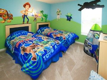 Toy Story bedroom.
