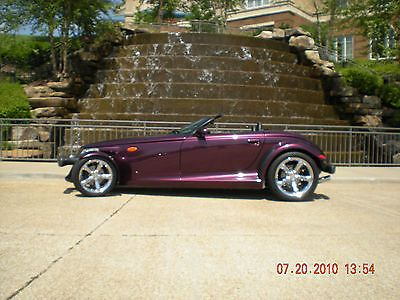 Great Shape, Only 3,036 Miles, Selling Two Out Of My Collection. One Purple Metallic And One Silver Metallic. All Paper ... 1999 Plymouth Prowler Muscle Shoals.
