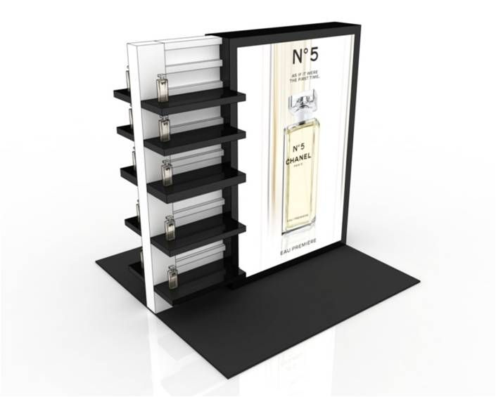 Cosmetic Exhibition Stand Design : Images about cosmetic displays on pinterest