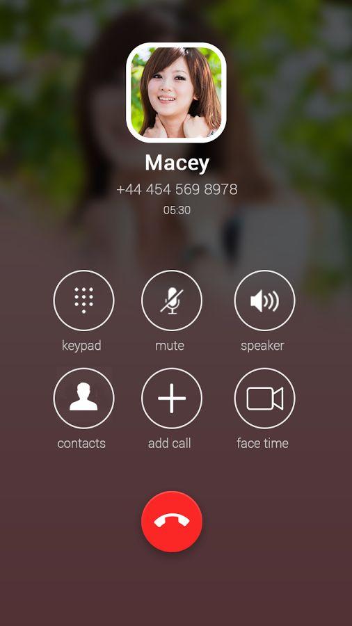 Dialer Contacts Number Tracker- screenshot