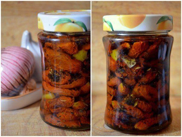 Вяленые томаты и перцы