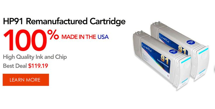 HP91 Remanufactured Cartridge special.