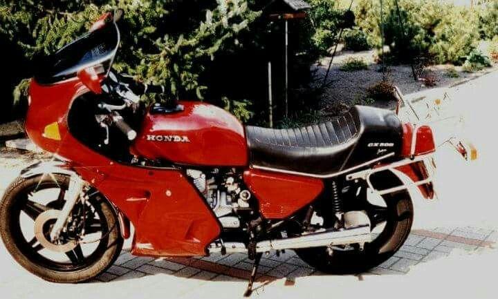 1986...Honda CX 500