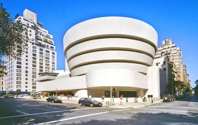 The Solomon R Guggenheim Museum Often Referred To As The Guggenheim Is An Art Museum Loc Guggenheim Museum Frank Lloyd Wright Buildings New York Attractions