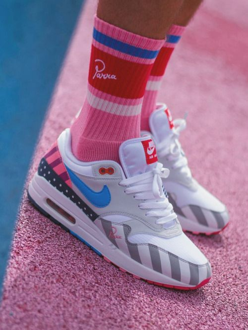 sweetsoles: Nike Air Max 1 'Parra' 2018 (by ___madvillain