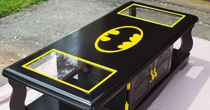 Holy Table, Batman! 10 Super Batman Symbol Tables