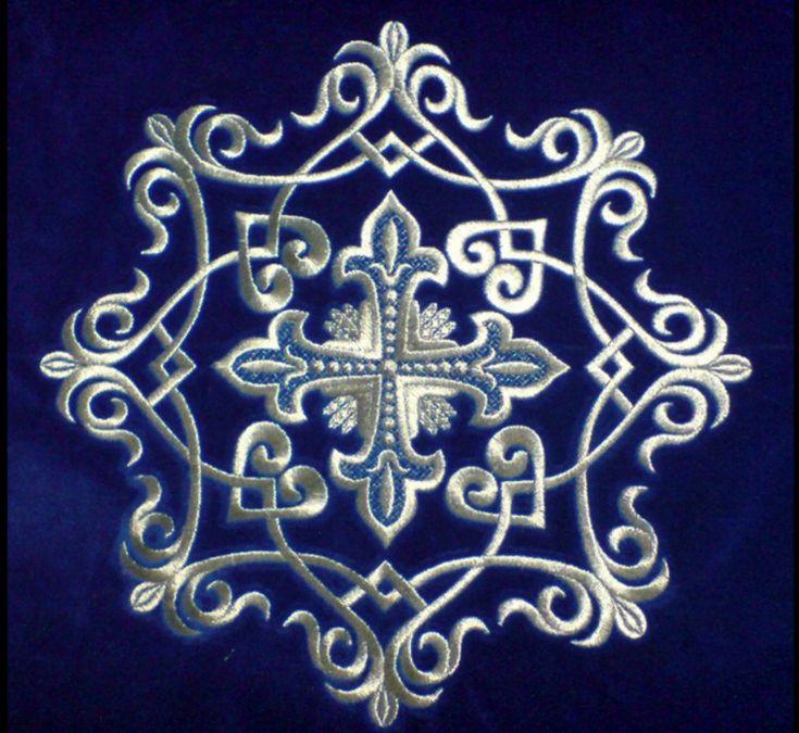 Особенности работы с блестящими тканями и нитями. 50 узоров для вышивки - Ярмарка Мастеров - ручная работа, handmade