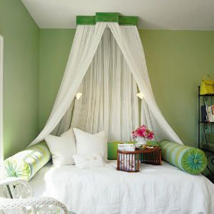 i want a bed canopy.