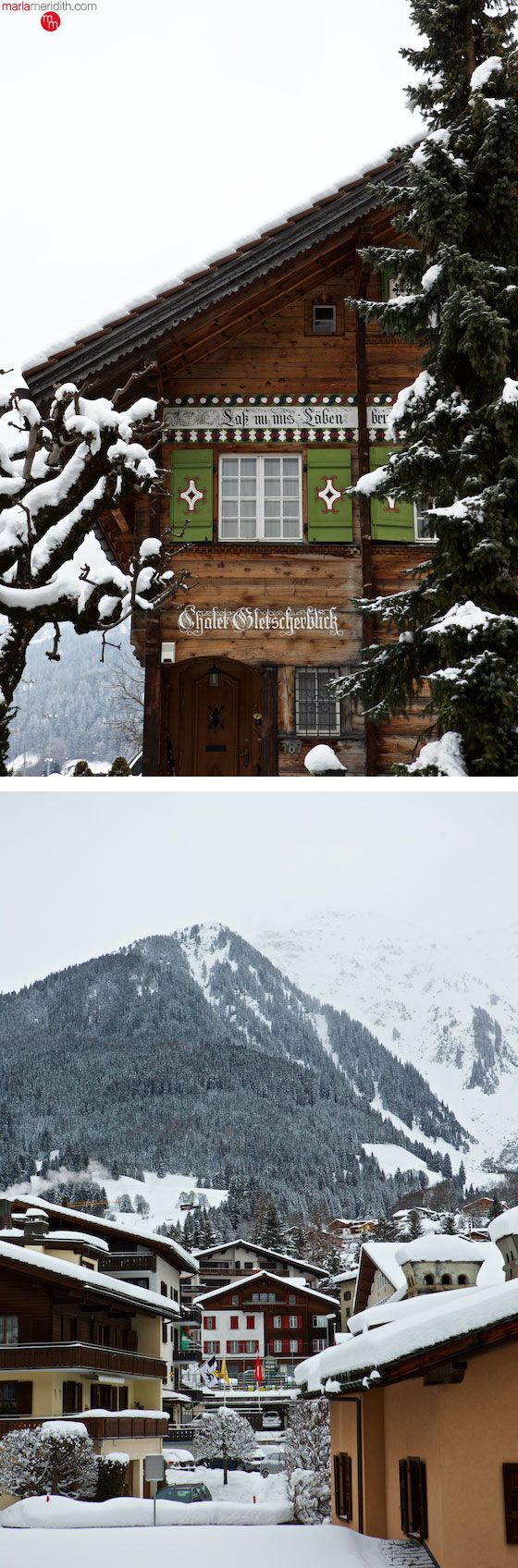 Davos & Klosters, Switzerland with Alpenglow Ski Safaris | An off-piste trip of a lifetime! MarlaMeridith.com