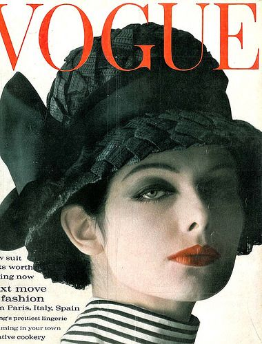 Penny Knowles, hat by Otto Lucas, cover by Claude Virgin, March 1962