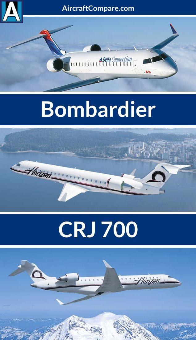 Bombardier Crj 700 Jet Aircraft Passenger Jet Aircraft