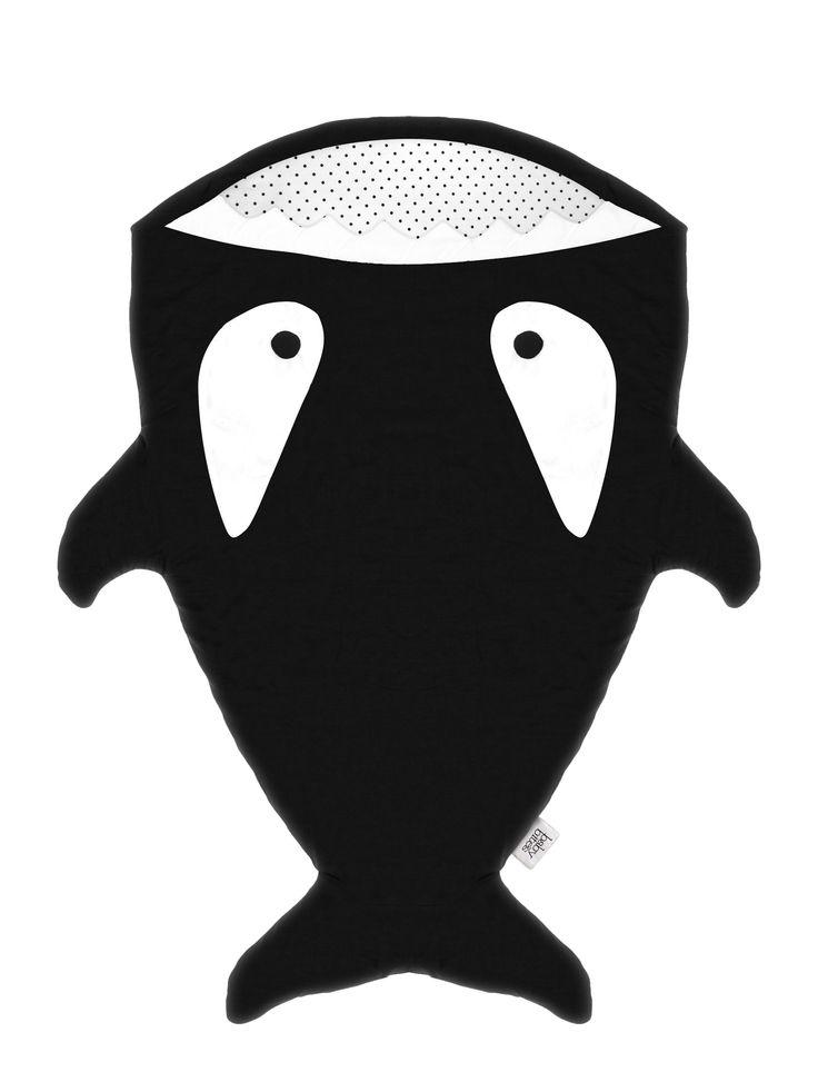 Saco tiburón negro  http://www.misoky.com/bebe/saco-negro.html