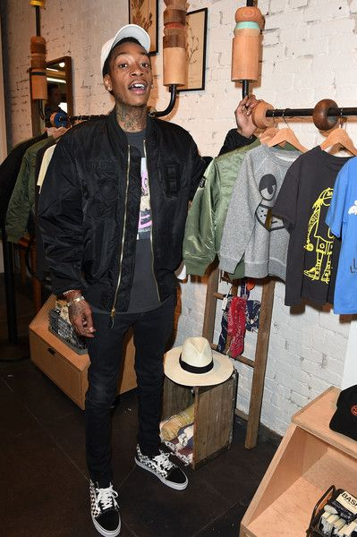 Wiz Khalifa Photos Photos - Wiz Khalifa attends BASH by Junk Food // Wiz Khalifa and Junk Food Clothing Capsule Launch on October 15, 2016 in Venice, California. - BASH by Junk Food // Wiz Khalifa and Junk Food Clothing Capsule Launch