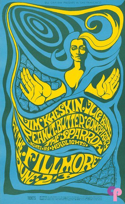 Jim Kweskin Jug Band at Fillmore Auditorium 6/2-3/67 by Bonnie MacLean