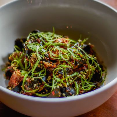 Learn to make squid-ink pasta from the chefs at Rolf & Daughters .