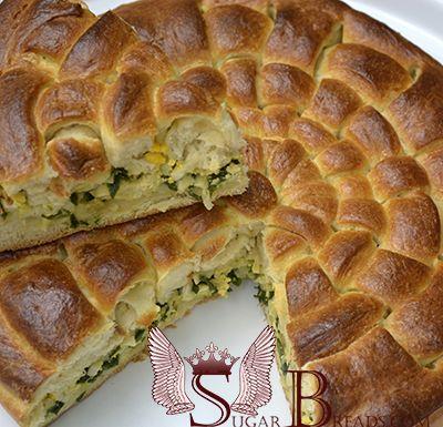 Κρεμμυδόπιτα με αυγά | Sugar & Breads in Greece