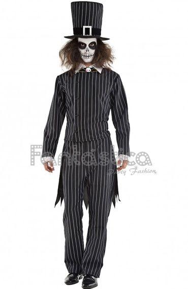 Disfraz para Hombre Jack Skellington - Pesadilla antes de Navidad