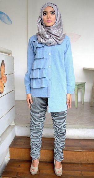 Fashion Anak Medan: Tips Berhijab Untuk yang Bertubuh Mungil