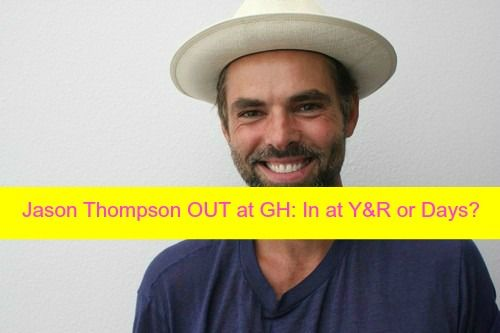 General Hospital (GH) spoilers include news that Jason Thompson is vacating the role of Dr. Patrick Drake. The actor said good-bye to fans, cast via Instagram