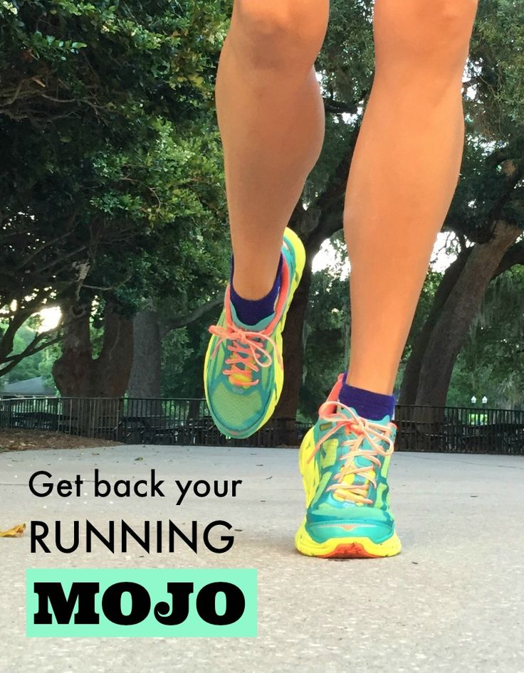 How to get your running mojo back! The easy way to get motivated to exercies