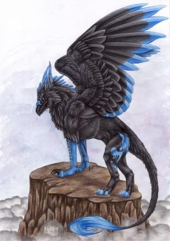 Griffon Mythologie   Le Griffon, les Korrigans ect.... (légende partie 4) - Tara - 892335