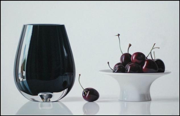 Black cherries for lovers Ruddy Taveras - Artelista.com