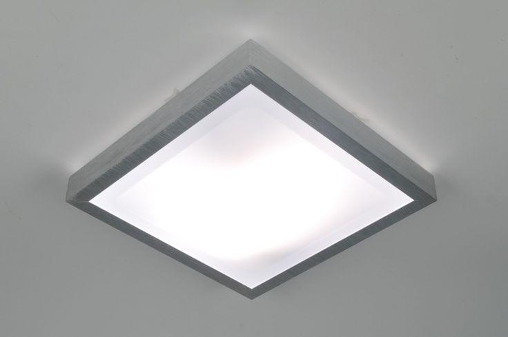 Artikel 70672 Eenvoudig, praktisch en zeer functioneel! Deze plafondlamp heeft een armatuur van geborsteld aluminium. De twee lichtbronnen worden afgedekt met een witte kunststof plaat. IP -waarde 44. Geschikt voor 2x max. 20 Watt E27 energie zuinige lamp (excl.)