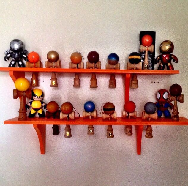 Kendama Rack - Custom Made - Let us know what color paint you want! $30 per rack.