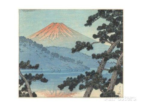 Mount Fuji Giclee Print by Kawase Hasui at AllPosters.com