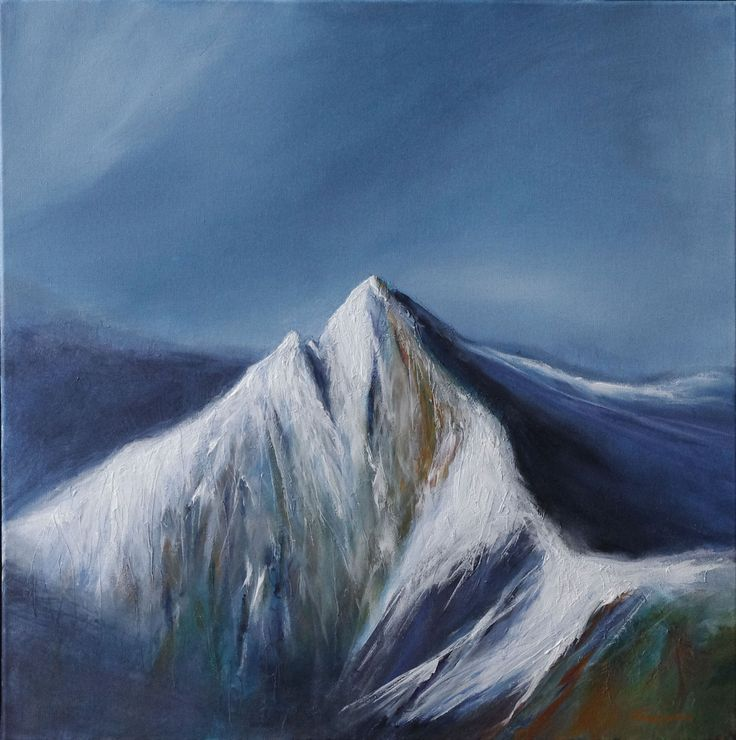 Cir Mhor by Scottish contemporary landscape painter J Mackintosh