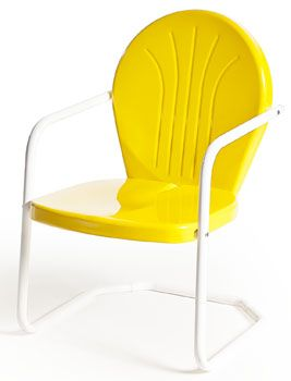 Buy Retro Metal Lawn Furniture Here   Bellaire Metal Lawn Chair   For The  Patio,