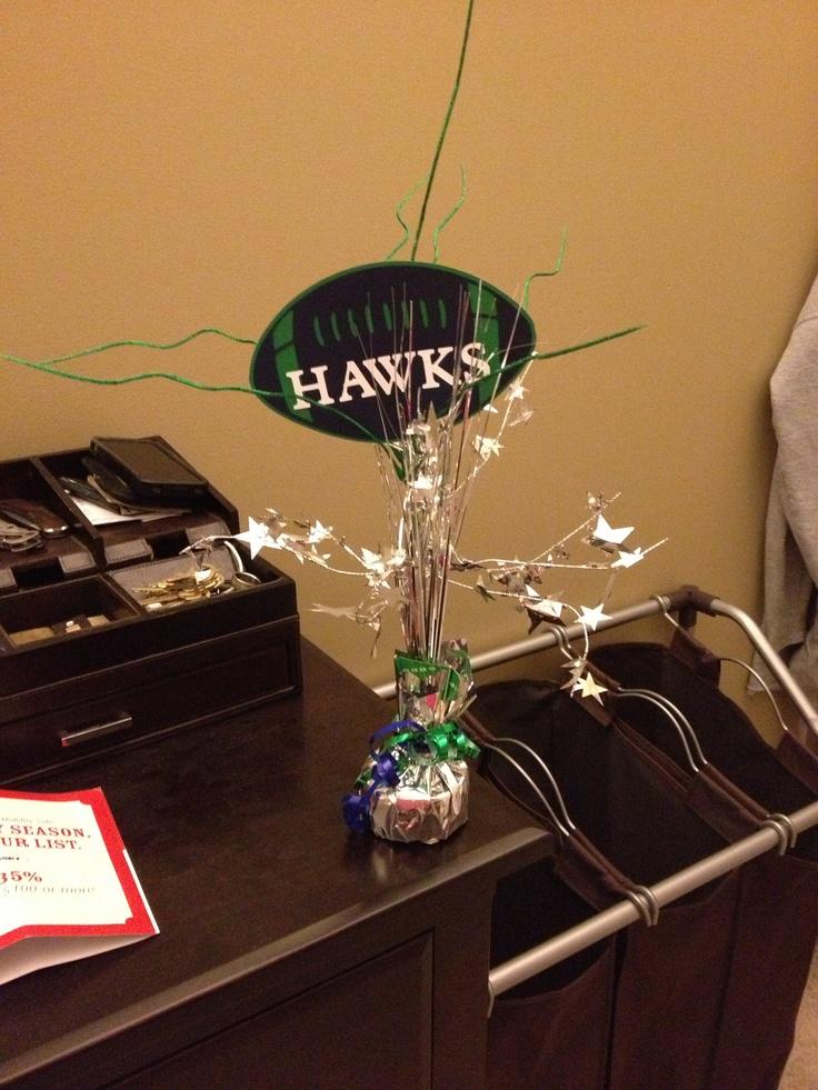 Creative Graduation Centerpiece Ideas : Best images about sports party ideas on pinterest